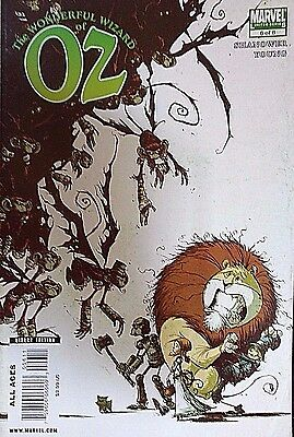 The Wonderful wizard of OZ*** #6/8 marvel comics limited series