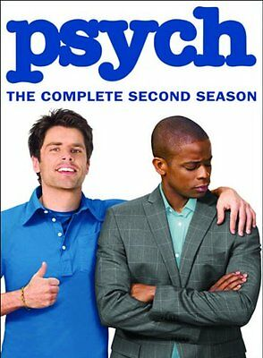 PSYCH COMPLETE SECOND SEASON 2 New Sealed 4 DVD Set