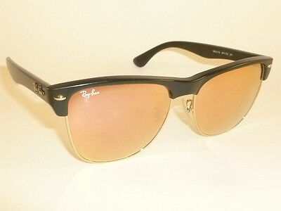 982ae8330ef49 New RAY BAN Sunglasses Black CLUBMASTER OVERSIZED RB 4175 877 Z2 Pink Mirror