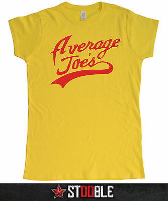 Average Joes Dodgeball Ladies T-Shirt - Direct from Stockist