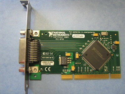 National Instruments PCI-GPIB Interface Adapter Card 188513B/D/E/F-01L