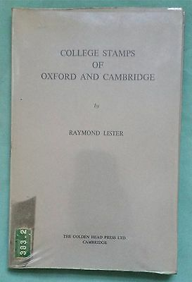 COLLEGE STAMPS OF OXFORD & CAMBRIDGE, Lister, 1966