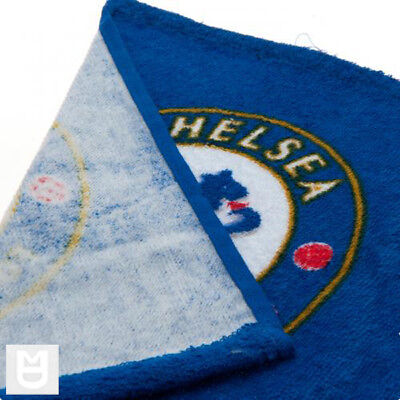 CHELSEA FC Official Face Cloth Flannel with Club Crest