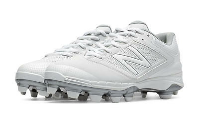 New Balance Women's Molded Softball Cleats White - SP4040W1