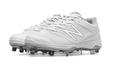 New Balance Women's Metal Softball Cleats White - SM4040W1