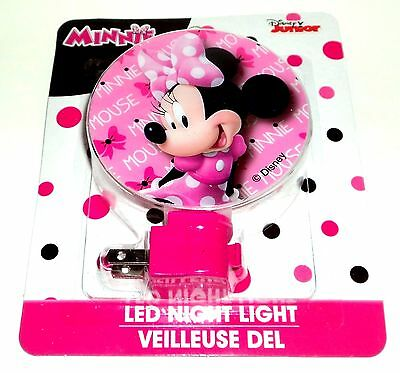 DISNEY JUNIOR LED Night Light Entrance, Hallway, Bedroom & Kitchen MINNIE MOUSE