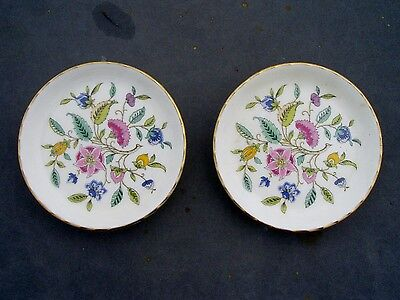 Minton Haddon Hall Pair Of Pin Dishes