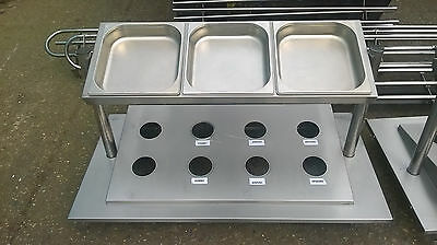 Stainless Steel Custom Serving Stand, Table Top - Cutlery, Food Trays 1 OF 2