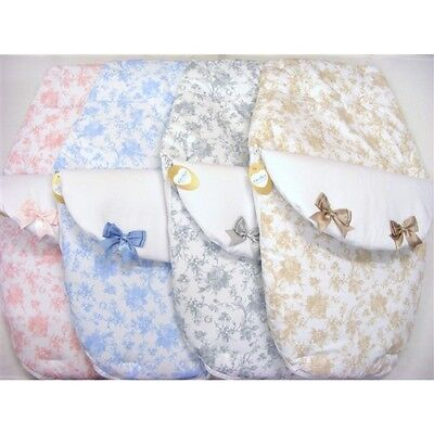 Baby Romany Spanish Style Bow & Roses Design 3 in 1 Cosy Toes Footmuff by Kinder