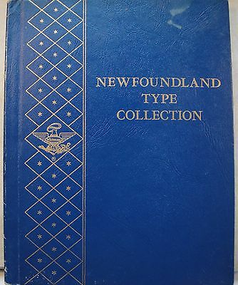 Whitman Newfoundland Type Album OK as pictured Used Condition Free Shipping