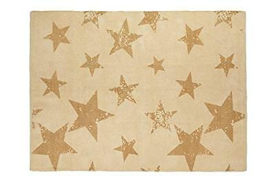 Lorena Canals C/PACK-VSTIO+CM PACK Vintage Star Mustard (Rug + Cushion), Giallo
