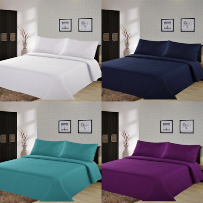 2/3Pc Lancaster Geometric Bed Bedspread Quilt Set Coverlet Modern  In 4 Sizes
