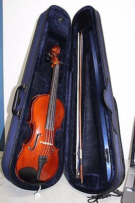 Gewa Allegro Full Size Violin 4/4 with Case and Bow