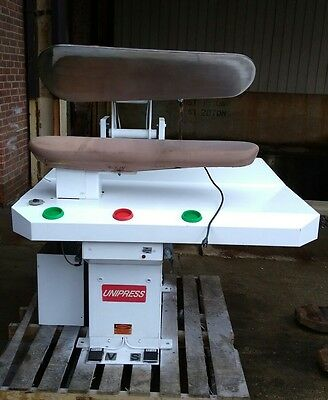 Unipress 42RXH Hot head press drycleaning