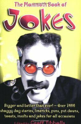The Mammoth Book of Jokes New edn (Mammoth Books) by Tibballs, Geoff Paperback