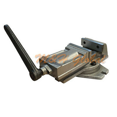 "Heavy Duty 4"" Milling Machine Vise with Swivel Base"