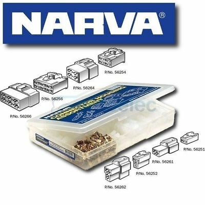 Narva 56250 Connector Plug Kit Electrical Cable Wire Male & Female Assortment