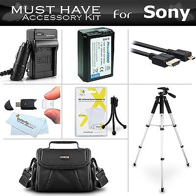 Essential Accessories Kit For Sony Alpha a6000, a6300, a5000, Alpha 7, a7, a7K,