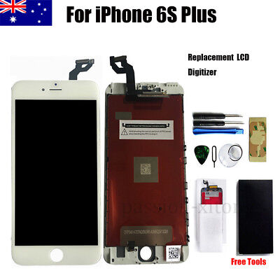 White Replacement LCD Display Touch Screen Digitizer Glass for iphone 6S Plus