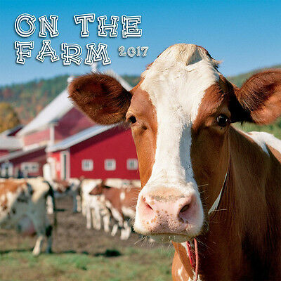 "On the Farm 2017 Wall Calendar by Turner/Lang (12"" x 24"" when opened)"