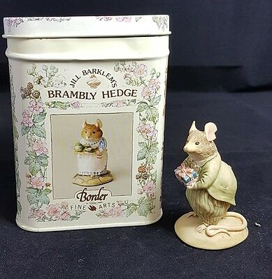 Border Fine Arts Brambly Hedge Bestman by Jill Barklem with Tin and Papers