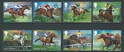 Great Britain 2017 Racehorse Legends Set Of 8 Unmounted Mint, Mnh
