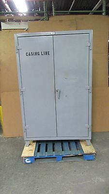 "Stronghold 48""x24""x72"" Heavy Duty Storage Cabinet 3 Shelf Strong Hold #59"
