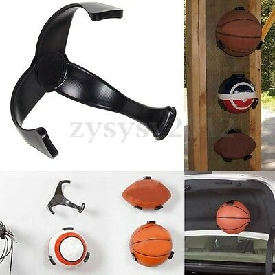 Ball Claw Basketball Soccer Sports Wall Mount Display Holder Saver Storage Rack