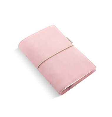 Filofax - Personal Domino Soft Pale Pink- Leather Look Organiser