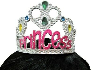 Tiara Princess Female Plastic with Jewels, very sparkly