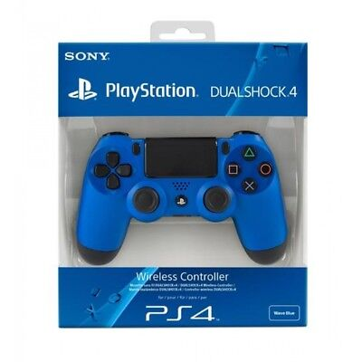 New Sony Dualshock 4 V2 Wave Blue Controller PS4 Brand New