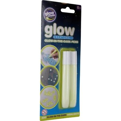 The Original Glowstars Company Glow Creations Glow in the Dark Pens Brand New