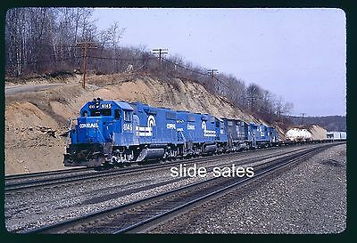 "Original Slide Conrail 8145 Cuburn, PA ""The Brickyard"" on 5-85"
