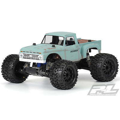 Proline 1966 Ford F-100 Body For Traxxas Stampede (Unpainted) - PL3412-00