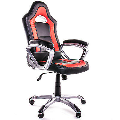 Deluxe Padded Chair Perfect For Gaming, Office work, Computer Desk