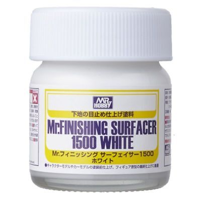 Gunze - Mr Hobby Gunzsf291 Mr. Fnishing Surfacer 1500 White