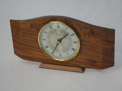 Vintage Smiths Timecal Mantel Clock Made In England Battery Collectable J3