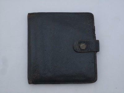 Vintage Wallet With Shilling Sections