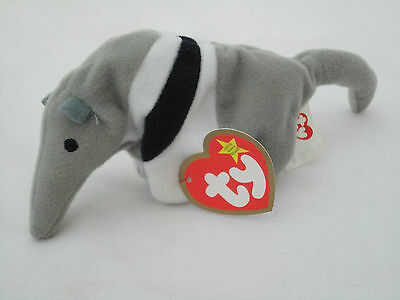 TY Teenie Beanie Babies Antsy The Anteater 1993 McDonalds Collectors L7