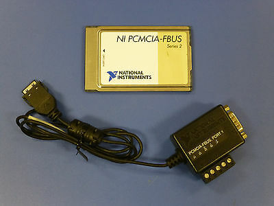 National Instruments PCMCIA-FBUS Foundation Fieldbus Interface Card, Series 2