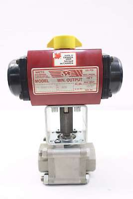 Watts Stainless Socket Weld 1-1/2in  Ball Valve Pa 400m3-can