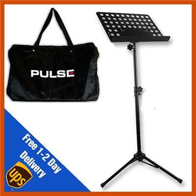 Heavy Duty Orchestral Lectern Conductor Sheet Music Stand Tripod Base + FREE BAG