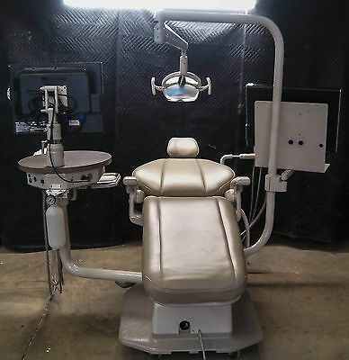 Adec 1020 Radius Dental Chair W/ Dual Monitor Mounts