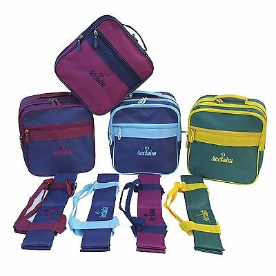 ACCLAIM Alnwick Mens Ladies Four Bowls Carrier & Small Mini Bowlers Locker Bag