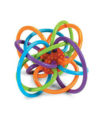 WINKEL RATTLE & TEETHER BABY TOY - MANHATTAN TOY - BNWT - gift idea
