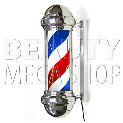 Barber Shop – Barber Pole Insegna Luminosa Rotante Barbiere