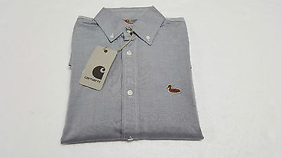 CARHARTT men's shirts half sleeves 100% cotton grey