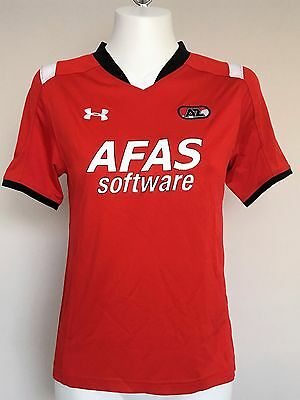 Az Alkmaar 2015/16 S/s Home Shirt By Under Armour Size Adults Large Brand New