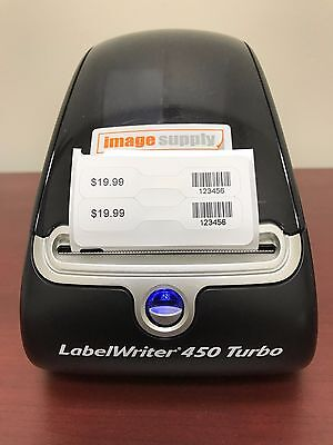 dymo thermal label printer with jewelry tags includes