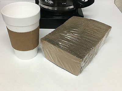 Corrugated Hot Cup Sleeves, Coffee Clutch, 64301